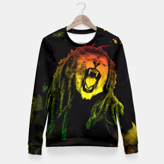 Thumbnail image of REGGAE KING Fitted Waist Sweater, Live Heroes