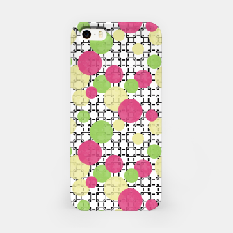 Miniaturka Polka dots iPhone Case, Live Heroes
