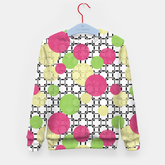 Polka dots Kid's Sweater obraz miniatury