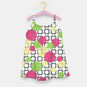 Polka dots Girl's Dress obraz miniatury