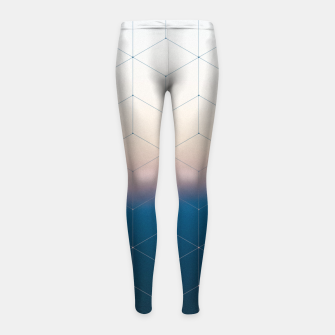 Thumbnail image of Measuring gravity Girl's Leggings, Live Heroes