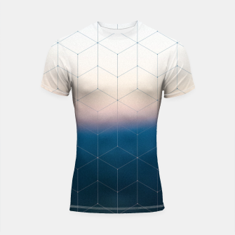 Thumbnail image of Measuring gravity Shortsleeve Rashguard, Live Heroes