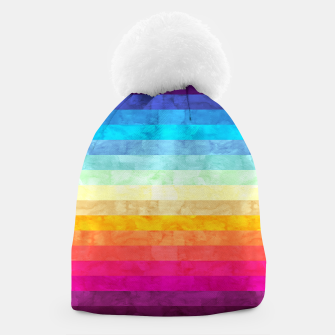 Miniaturka Colorful modern painting Beanie, Live Heroes
