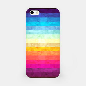 Colorful modern painting iPhone Case obraz miniatury
