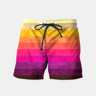 Thumbnail image of Colorful modern painting Swim Shorts, Live Heroes