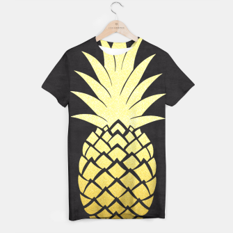 Thumbnail image of Golden pineapple T-shirt, Live Heroes