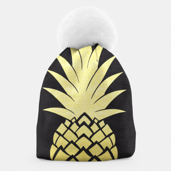 Thumbnail image of Golden pineapple Beanie, Live Heroes