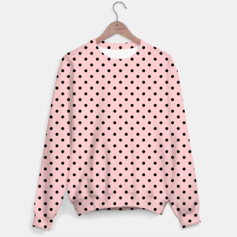 Polka dots retro color Sweater obraz miniatury