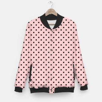 Miniaturka Polka dots retro color Baseball Jacket, Live Heroes