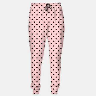Polka dots retro color Sweatpants obraz miniatury