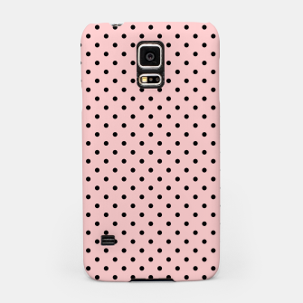 Polka dots retro color Samsung Case obraz miniatury