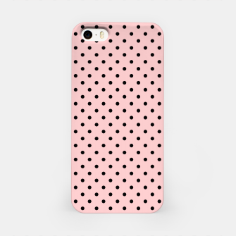 Polka dots retro color iPhone Case obraz miniatury