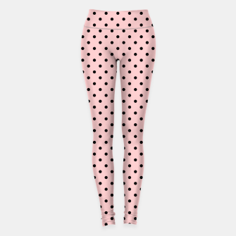 Miniaturka Polka dots retro color Leggings, Live Heroes