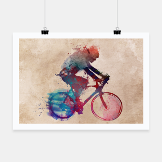 Thumbnail image of cycling Plakat, Live Heroes