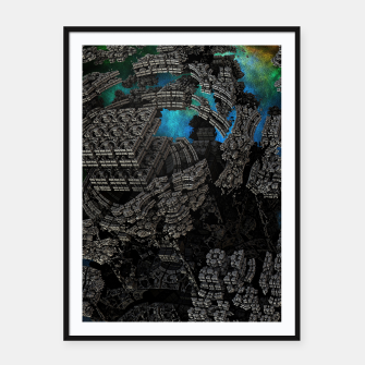 Thumbnail image of CMC Kregion CLRL90 Framed poster, Live Heroes