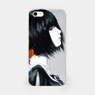 Thumbnail image of Anime Black Hair Girls Carcasa por Iphone, Live Heroes