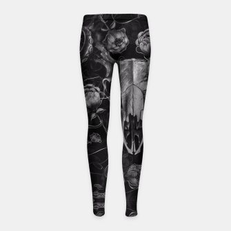 Thumbnail image of Tranquility Girl's Leggings, Live Heroes