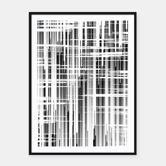 Thumbnail image of GWav Abstract Framed poster, Live Heroes