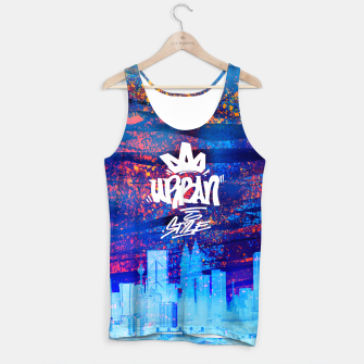 Miniatur Urban Style Tank Top, Live Heroes