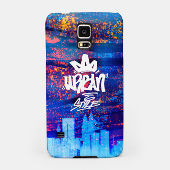 Miniatur Urban Style Samsung Case, Live Heroes
