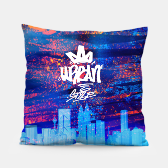 Miniatur Urban Style Pillow, Live Heroes