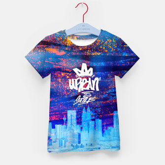Thumbnail image of Urban Style Kid's T-shirt, Live Heroes
