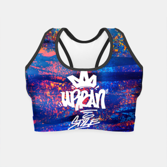 Thumbnail image of Urban Style Crop Top, Live Heroes