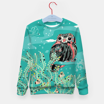 Thumbnail image of After the rain Kid's Sweater, Live Heroes