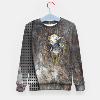Thumbnail image of Time Flies Kid's Sweater, Live Heroes