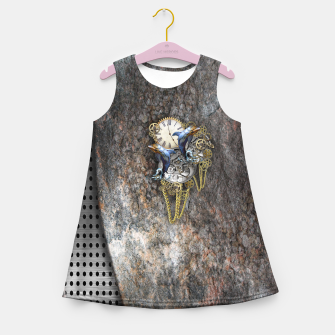 Thumbnail image of Time Flies Girl's Summer Dress, Live Heroes