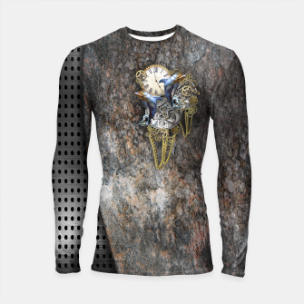 Thumbnail image of Time Flies Longsleeve Rashguard , Live Heroes