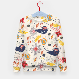 Thumbnail image of Cheerful Forest Kid's Sweater, Live Heroes
