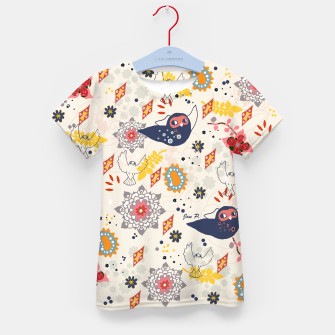 Thumbnail image of Cheerful Forest Kid's T-shirt, Live Heroes
