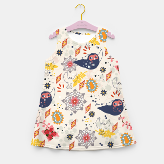 Thumbnail image of Cheerful Forest Girl's Summer Dress, Live Heroes