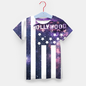 Thumbnail image of Hollywood Stars Kid's T-shirt, Live Heroes