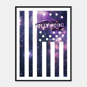 Thumbnail image of Hollywood Stars Framed poster, Live Heroes