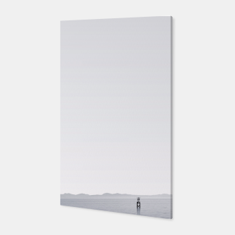 "Miniaturka ""Horizon"" - Black & white photography Poster Canvas, Live Heroes"