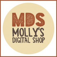 Molly's Digital Shop logo