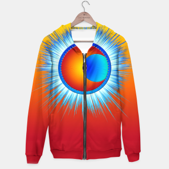 Thumbnail image of Eye Of The Sun Blue Burst Hoodie, Live Heroes