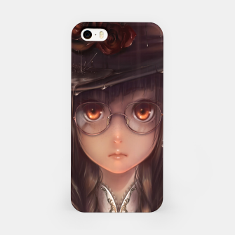 Thumbnail image of Anime Girl Horne Glasses Carcasa por Iphone, Live Heroes
