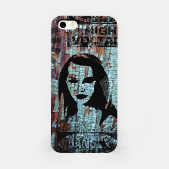 Miniatur Etude in grunge style iPhone Case, Live Heroes