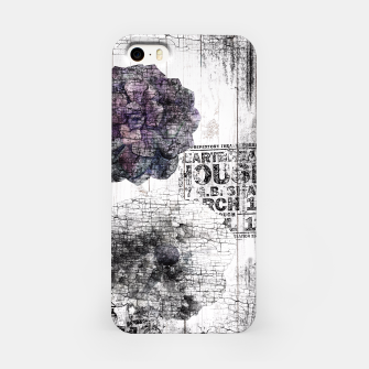 Thumbnail image of Shabby wooden iPhone Case, Live Heroes