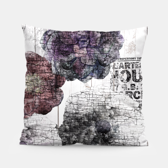 Thumbnail image of Shabby wooden Pillow, Live Heroes