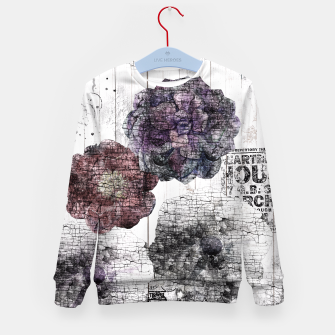 Thumbnail image of Shabby wooden Kid's Sweater, Live Heroes