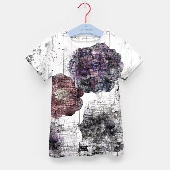 Thumbnail image of Shabby wooden Kid's T-shirt, Live Heroes
