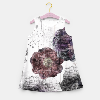 Thumbnail image of Shabby wooden Girl's Summer Dress, Live Heroes
