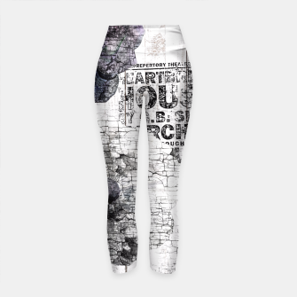 Thumbnail image of Shabby wooden Yoga Pants, Live Heroes