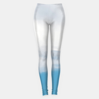 Thumbnail image of Giraffe neck and head against the clear blue sky Leggings, Live Heroes