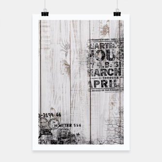 Thumbnail image of Shabby chic Poster, Live Heroes