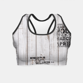 Thumbnail image of Shabby chic Crop Top, Live Heroes